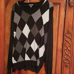 Mens vneck sweater